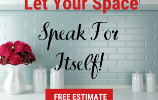 let your space speak for itself
